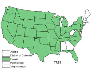 Native States for Puncturevine (Tribulus Terrestris)