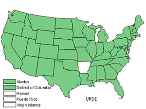 Native States for Stinging Nettle (Urtica Dioica)