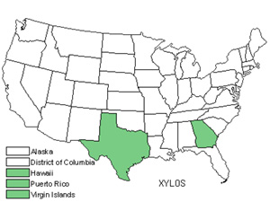 Native States for Xylosma (Xylosma)