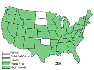 Native States for Corn (Zea)