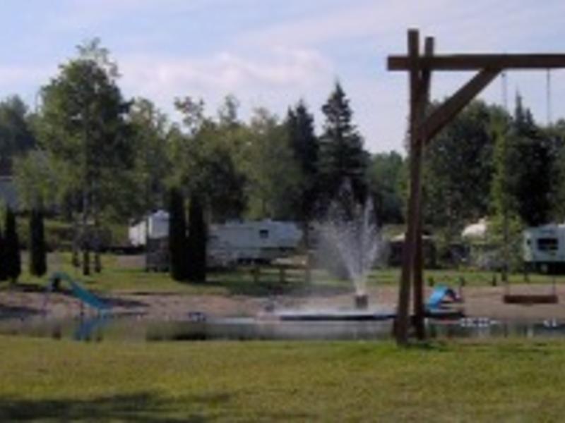 Camping municipal saint fran ois de sales saguenay  lac saint jean big