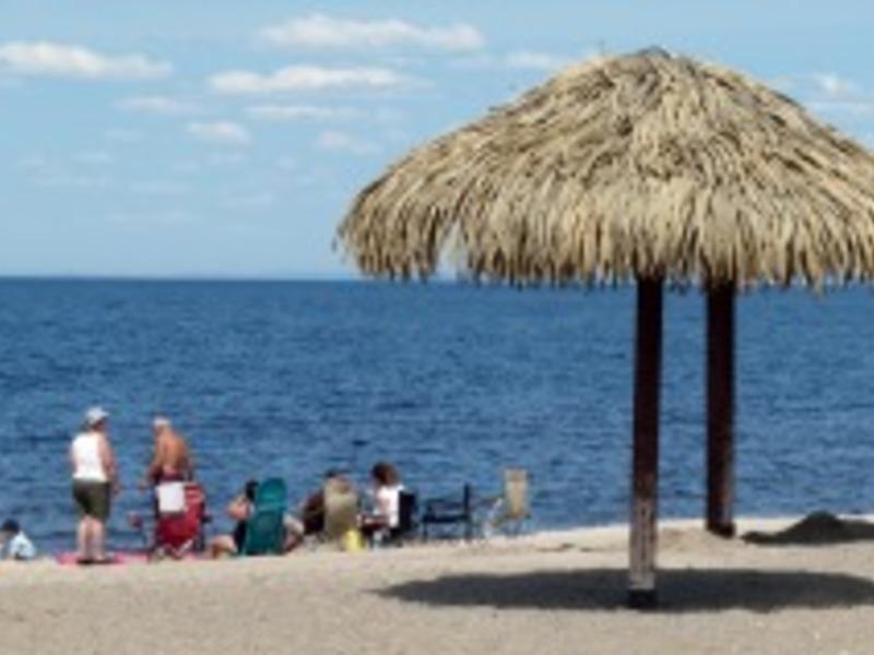 Camping plage blanchet saguenay  lac saint jean big