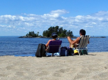 Camping plage belley saguenay  lac saint jean small