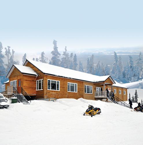 Saint fulgence hebergement motoneige relais hiver credit auberge du 31 small