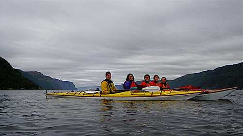 Kayak mer excursion small