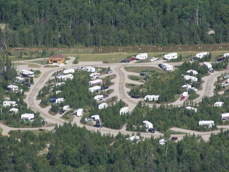 Camping de haut big