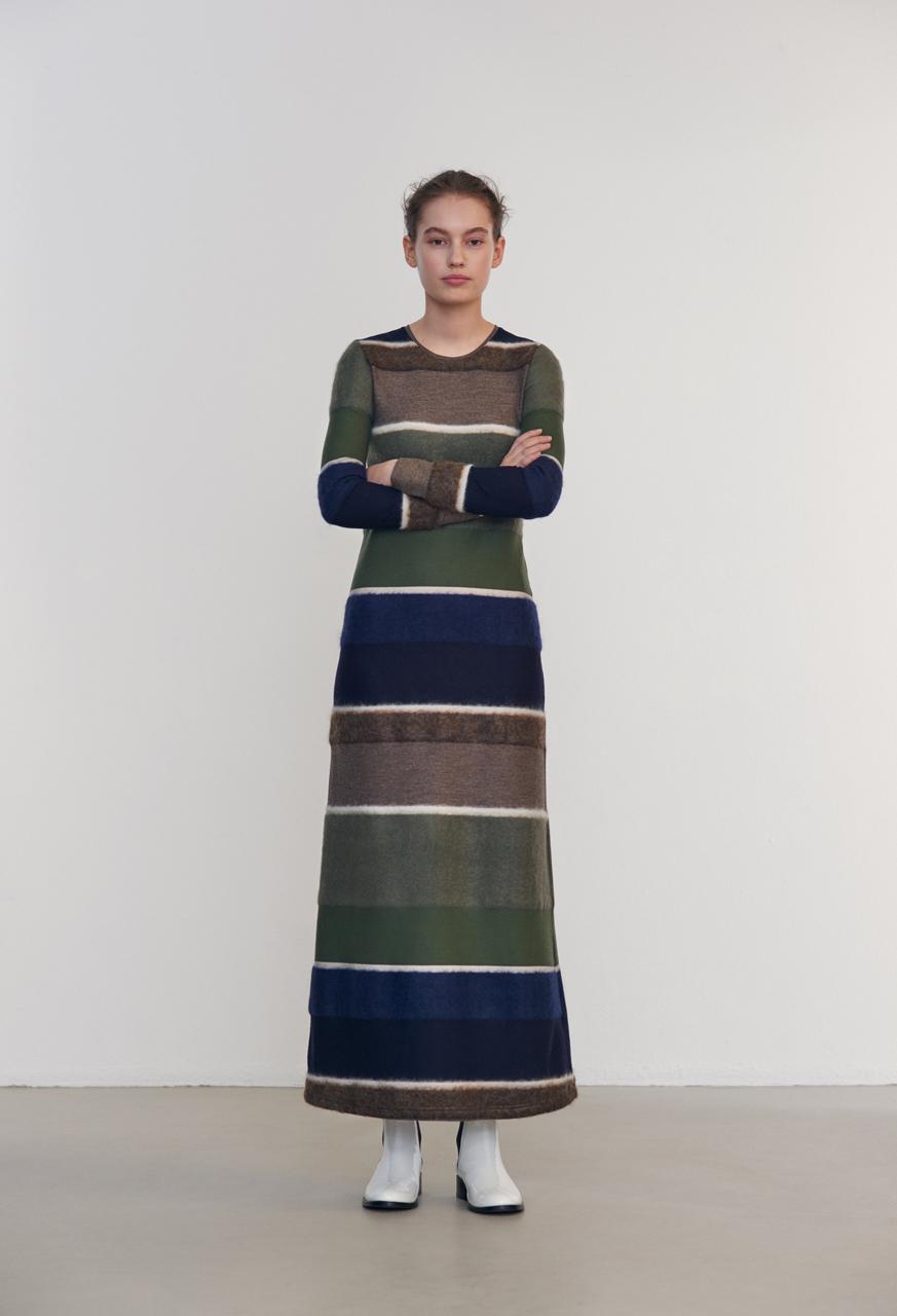 Samuji-fw16-paloma-dress-argyll-lookbook
