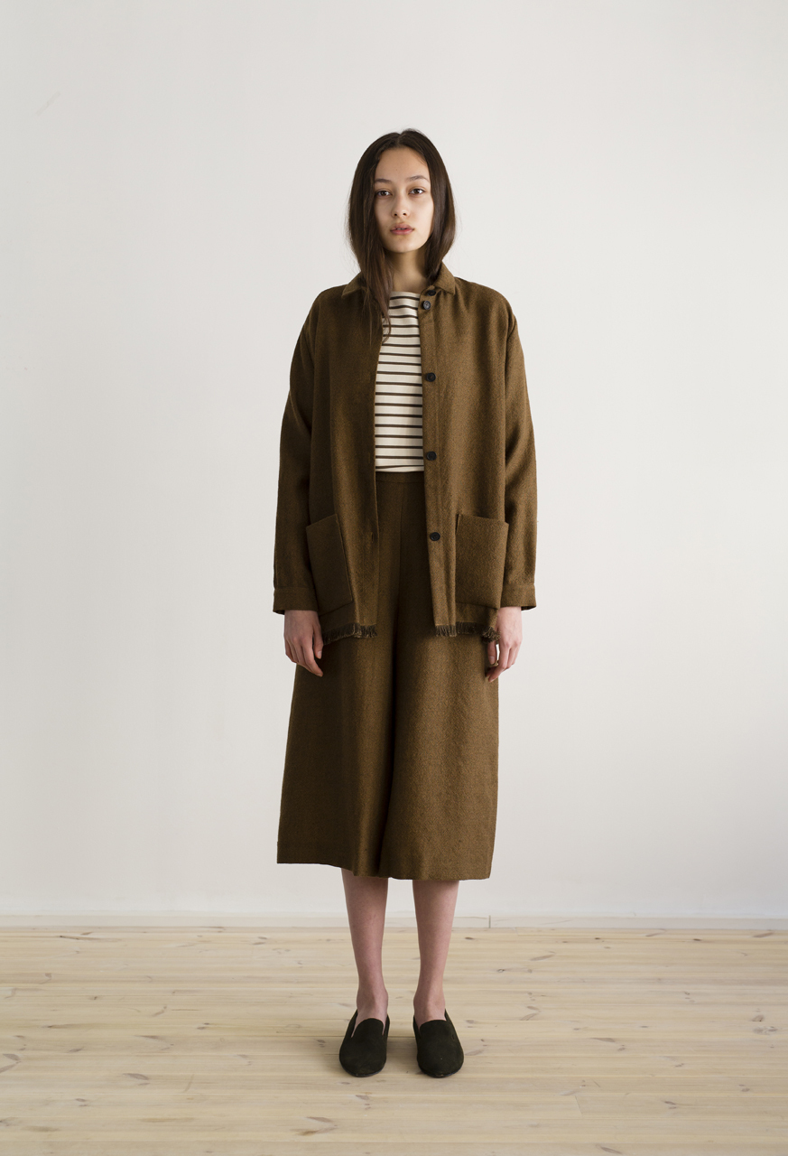 Samuji-himani-jacket-helki-trousers-hemp-wool-brown