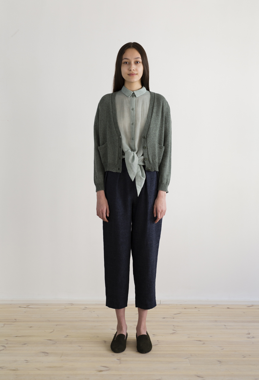Samuji-resort17-pilot-cardigan-trinity-green-gada-shirt-brigs-trousers