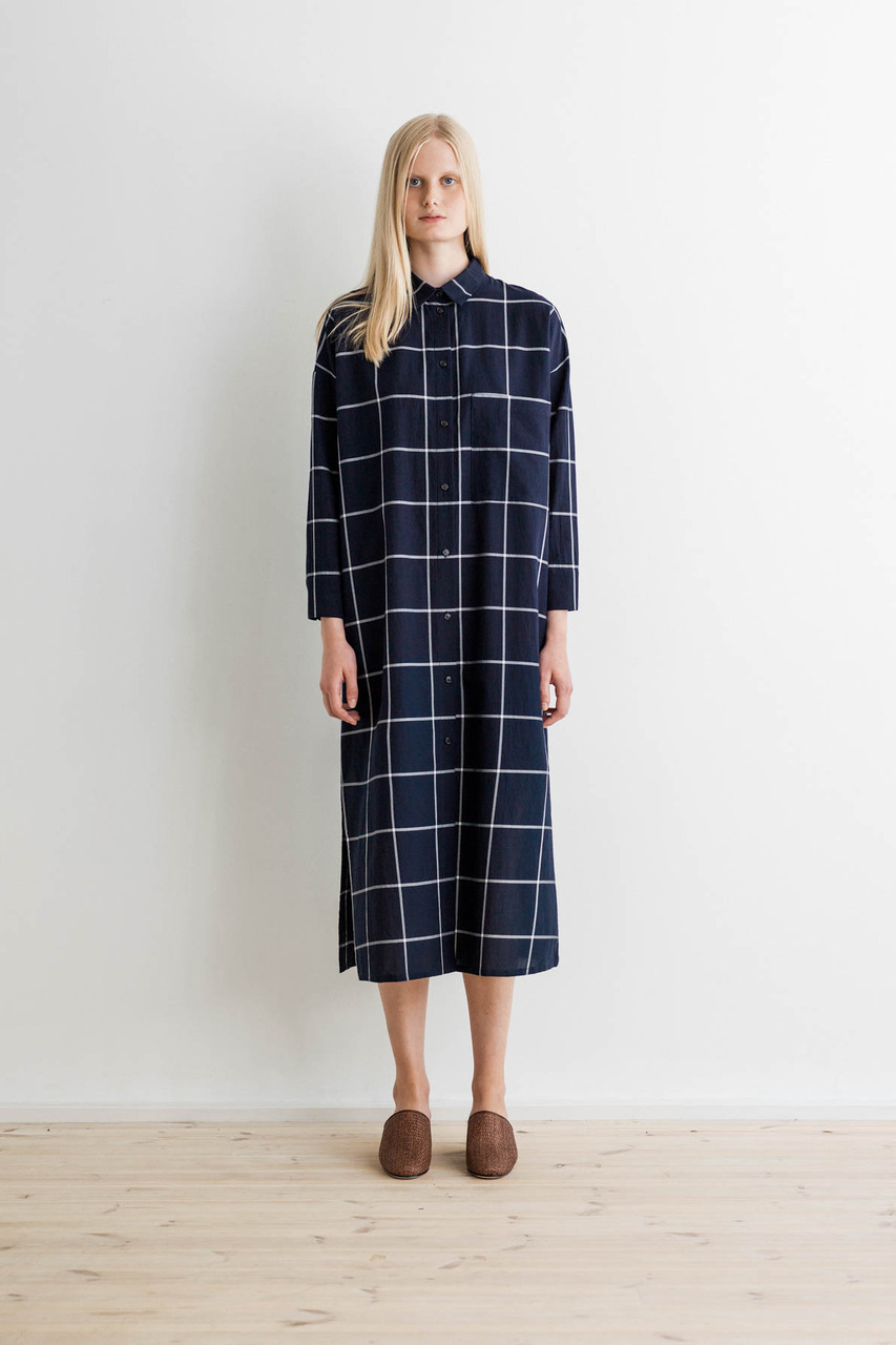 Samuji-ss17-corny-dress-cotton-square-navy