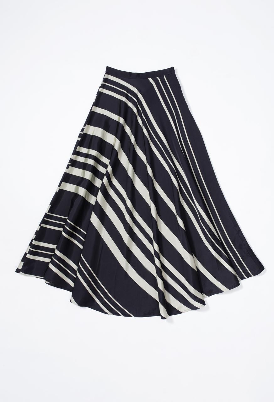Samuji-ss17-shia-skirt-stripy-viscose-silk