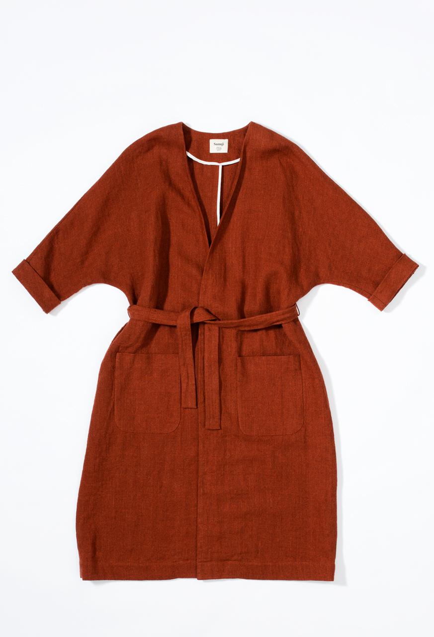 Como-coat-orange-samuji-ss17