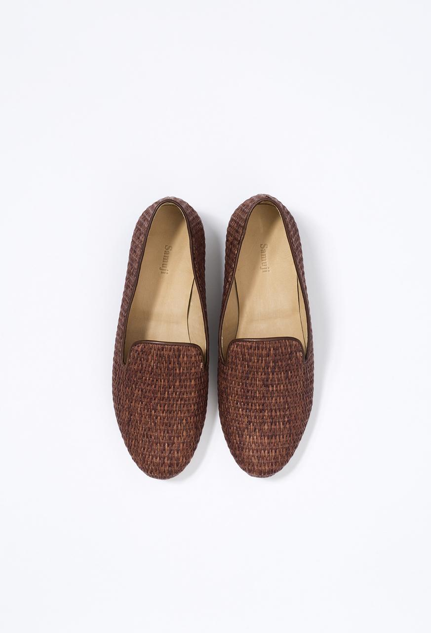 Samuji-ss17-loafers-basket-weave