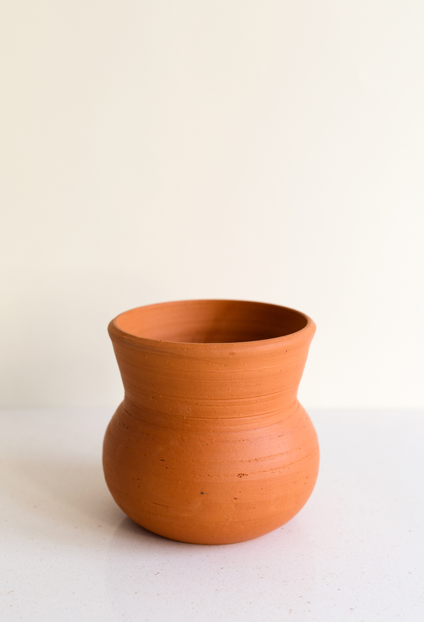 "Red Clay Planter ""Amfora"""