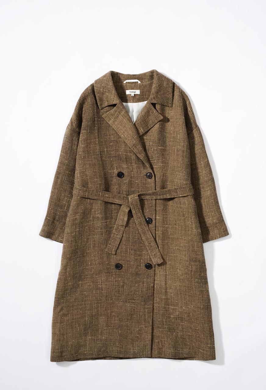 Cierra-coat-brown-samuji-pf17