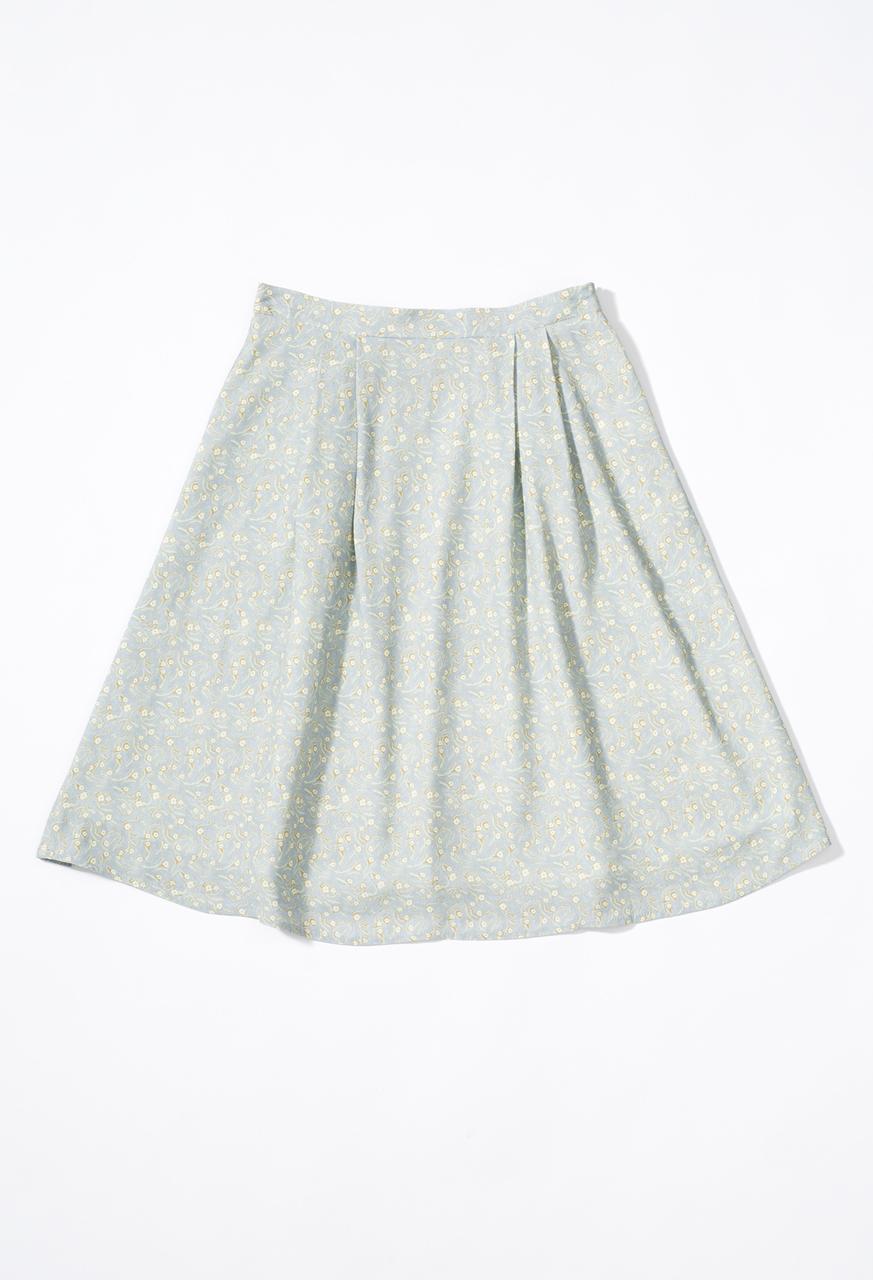 Samuji-pf17-bouvier-skirt-bordo
