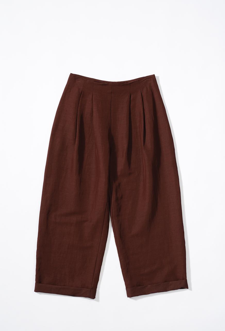 Vevida_trousers_brown_samuji_pf17
