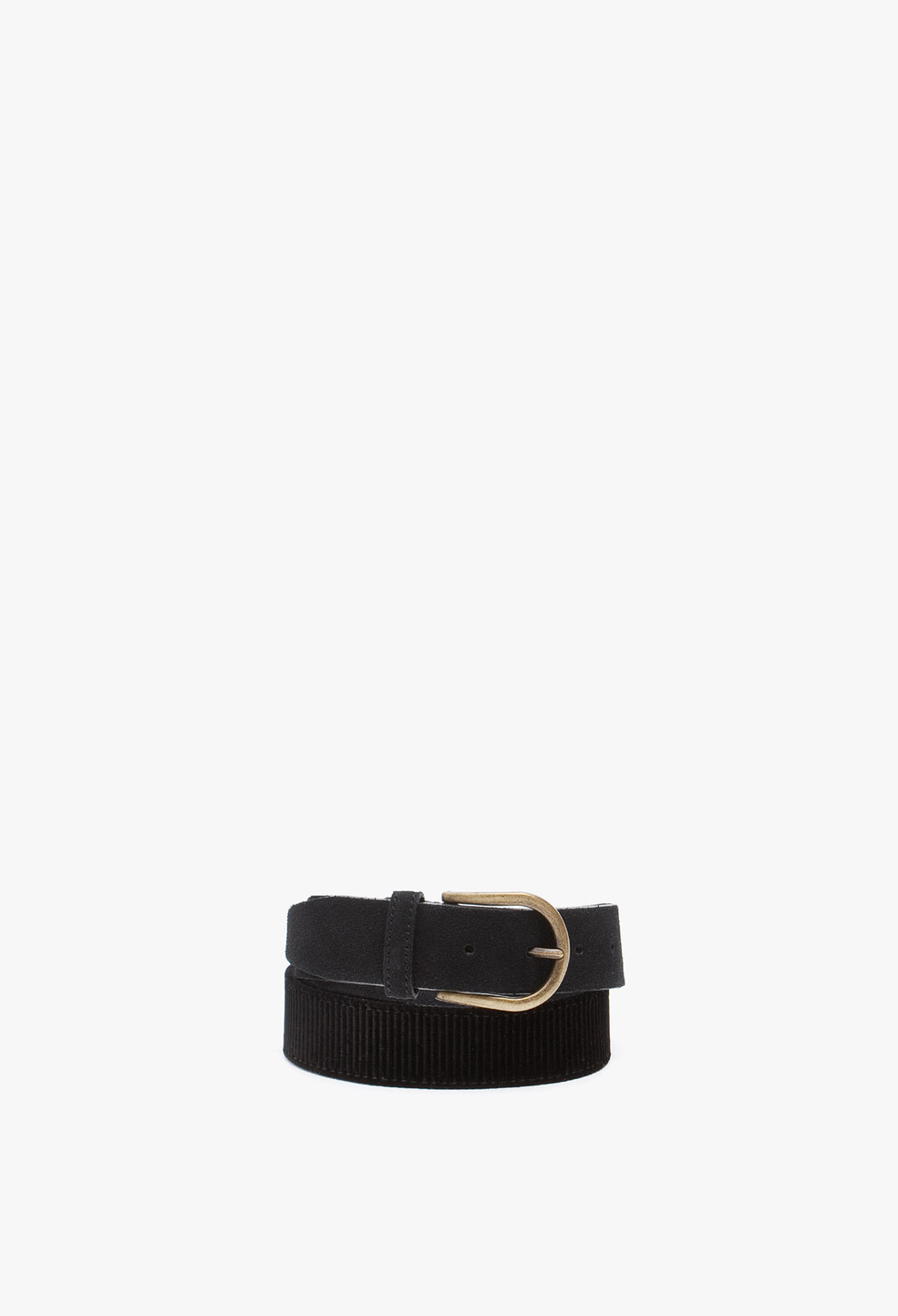 Velvet Belt Navy