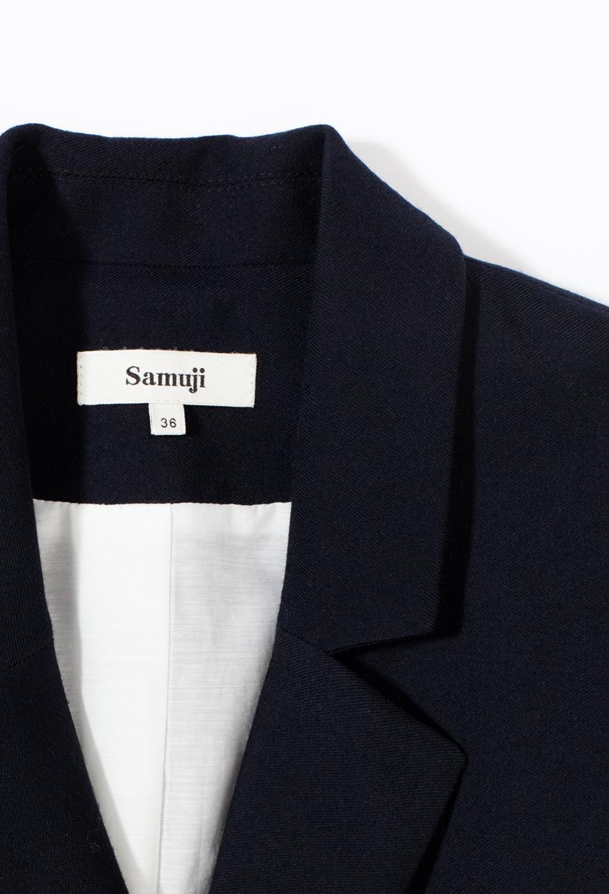 Emiko_blazer_dark_navy_detail_samuji_fw17_www