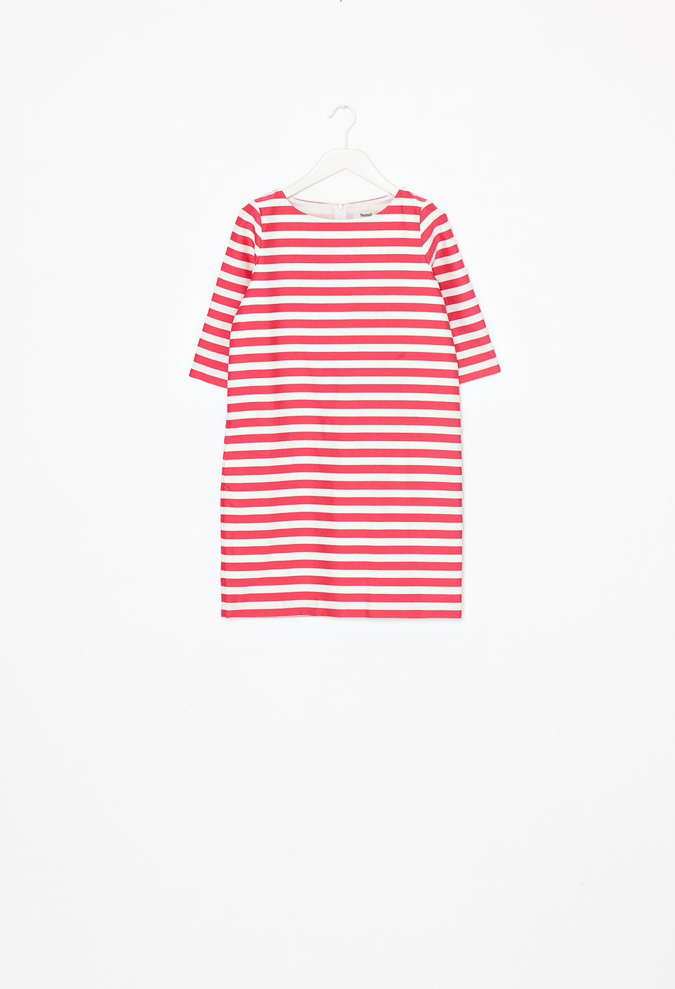 Sana Dress Red Stripe