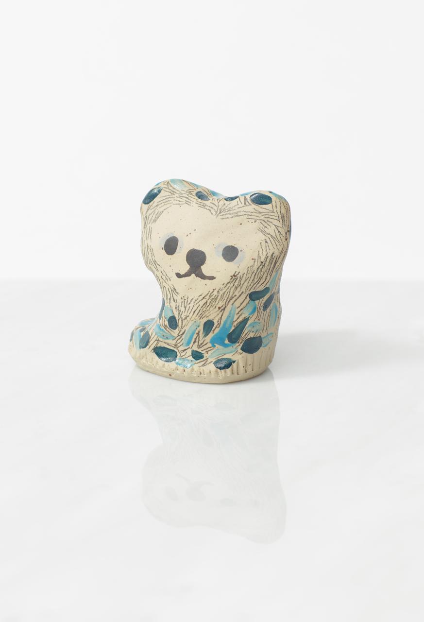 """""""Pieni Kissa"""" Ceramic Statue"""