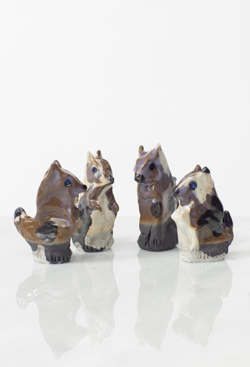 """""""Orava"""" Ceramic statue"""