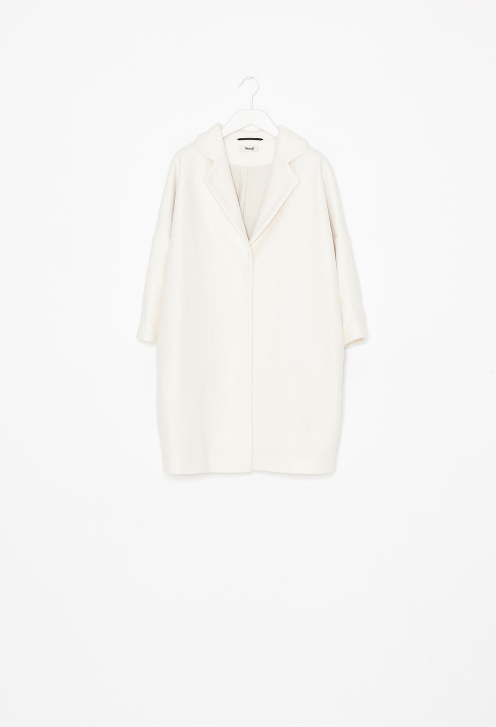 Bled Coat Off White
