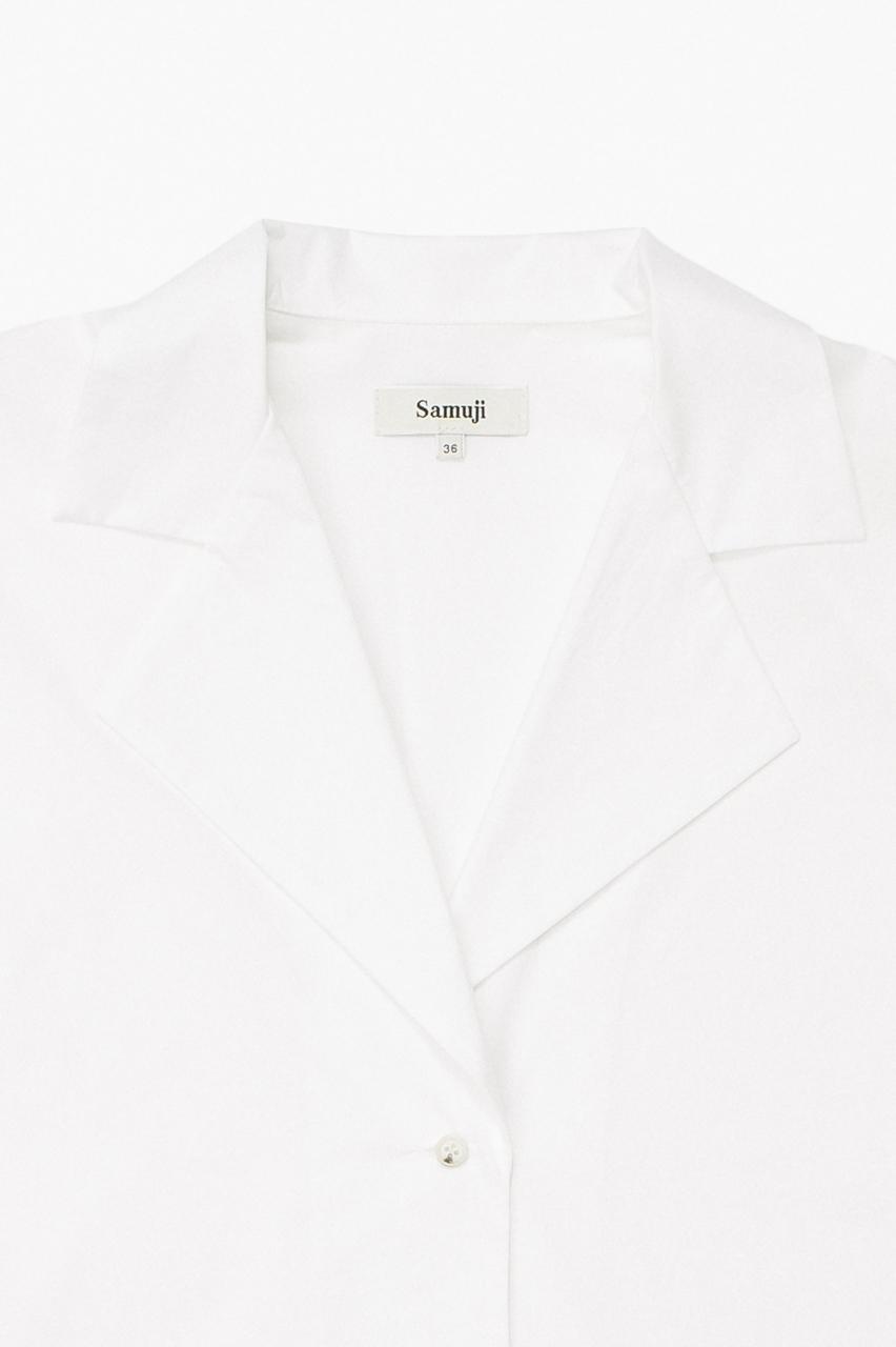 Samuji_ss18_chipo_shirt_ecru_detail
