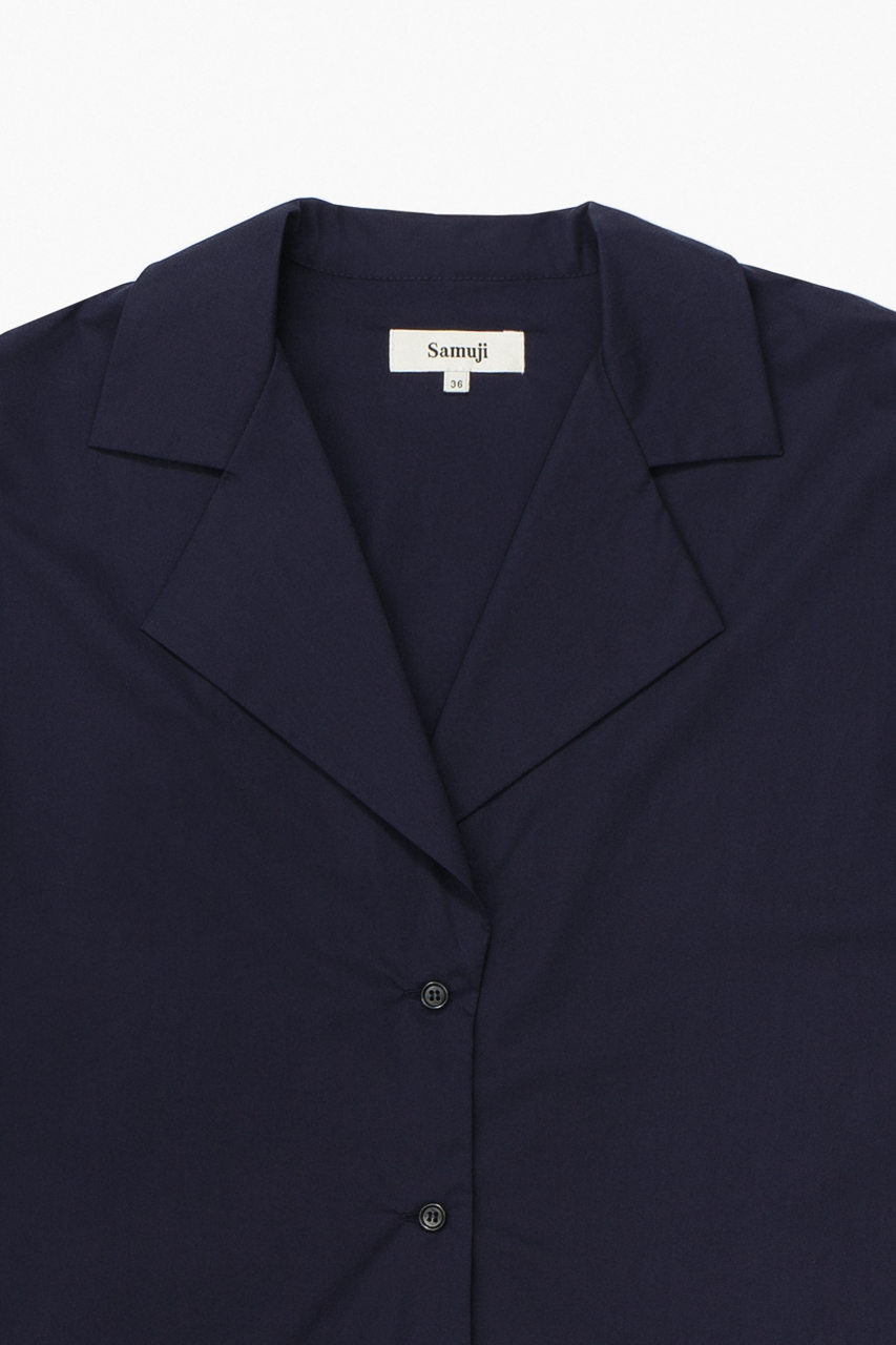 Samuji_ss18_chipo_shirt_dark_navy_detail