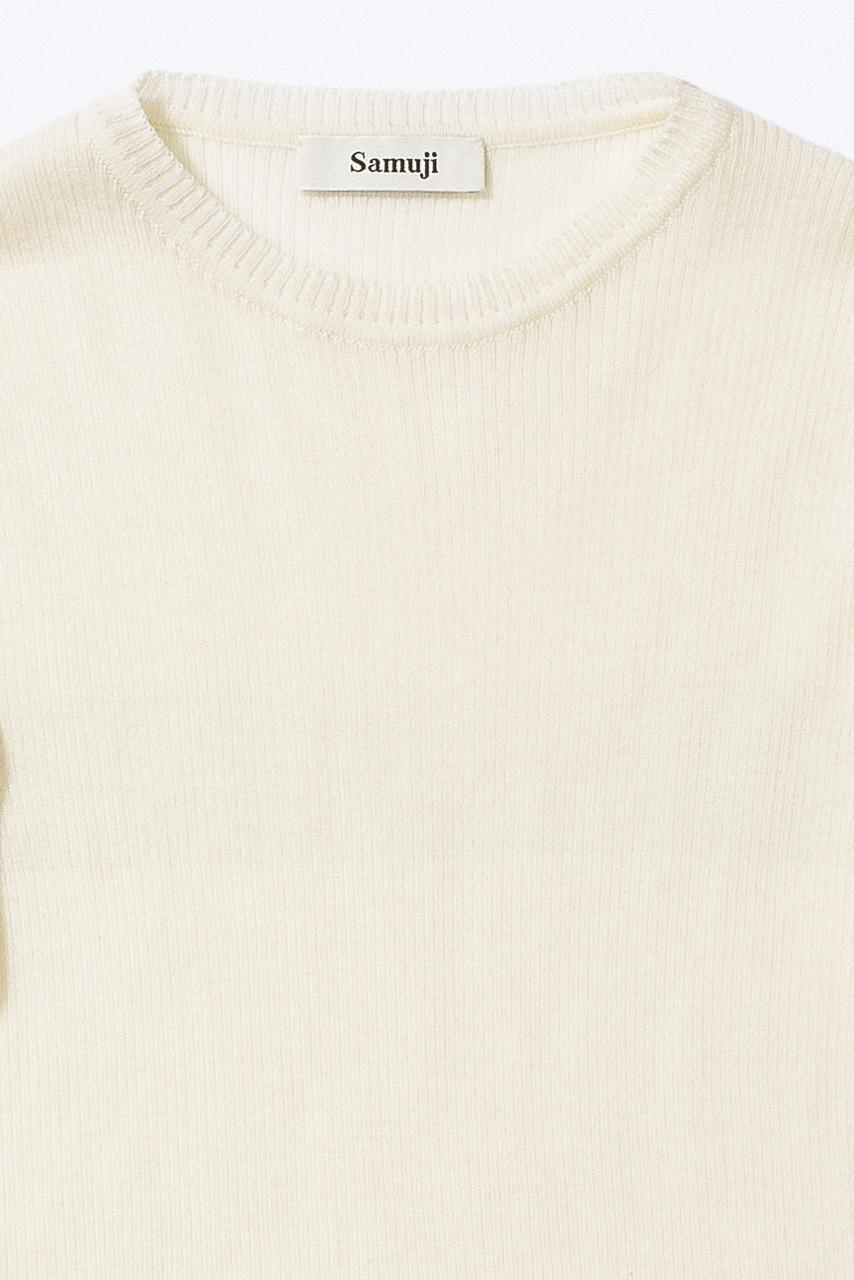 Samuji_ss18_amund_sweater_ecru_detail