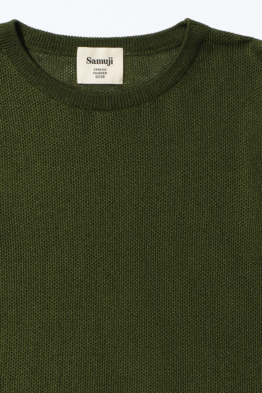 Samuji_ss18_gilad_sweater_green_detail
