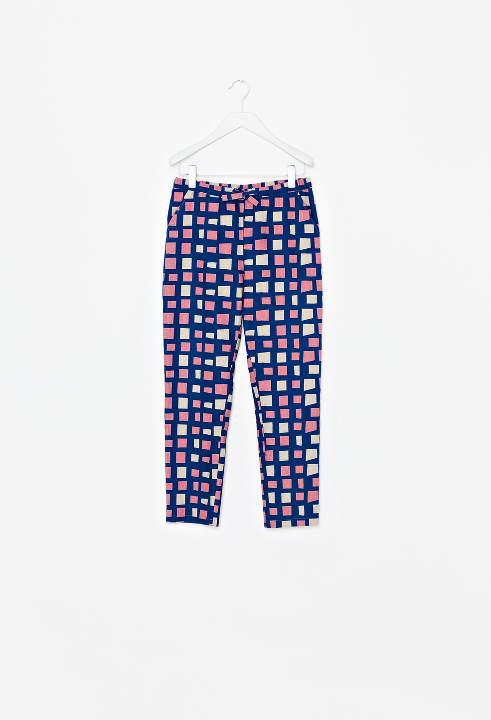 Penguin Trousers Square Blue