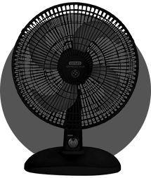 Ventilador Air Protec Plus Negro