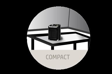 moderno y compacto