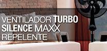 Ventilador Turbo Silence Maxx Repelente