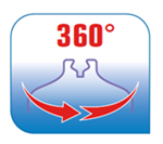 La plancha Master Precision 360° es una plancha fácil de usar