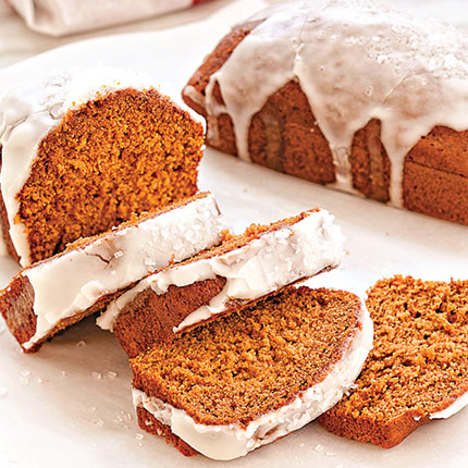 Honey Orange Gingerbread | Sandra Lee