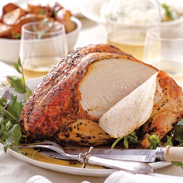 Roasted turkey breasts