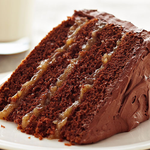 Inside-Out German Chocolate Cake | Sandra Lee