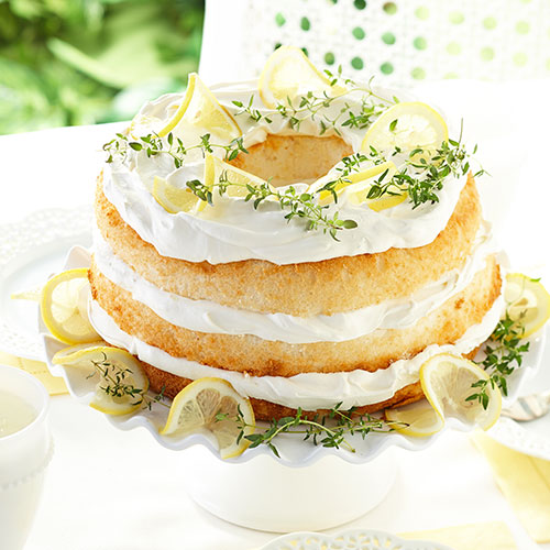 Angel Cake Slices