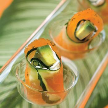 food-salmon-rolls