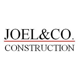 Website for Joel & Co. Construction