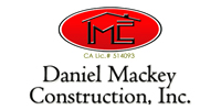 Website for Daniel Mackey Construction, Inc.