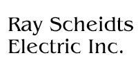 Website for Ray Scheidts Electric, Inc