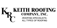Website for Keith Roofing Co., Inc.