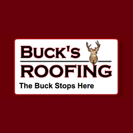 Website for Buck's Roofing