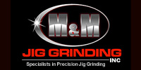 Website for M & M Jig Grinding, Inc.