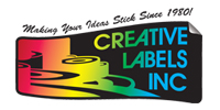Website for Creative Labels, Inc.