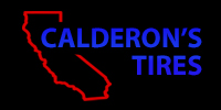 Website for Calderon New & Used Tires