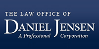 Website for The Law Office of Daniel Jensen A Professional Corporation